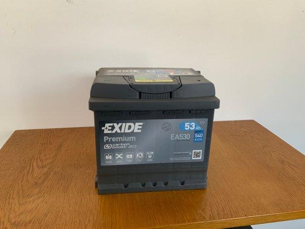 EXIDE PREMIUM EA530 Starterbatterie 12V 53Ah(20h) 540A(EN)