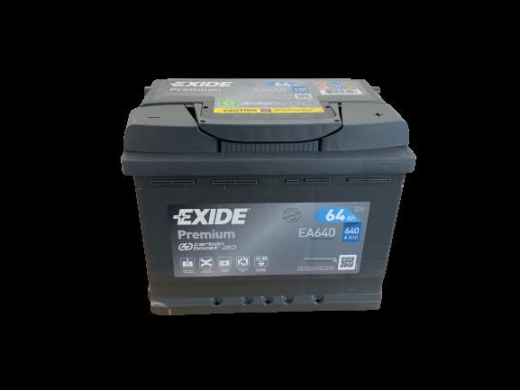 EXIDE PREMIUM EA640 Starterbatterie 12V 64Ah(20h) 640A(EN)