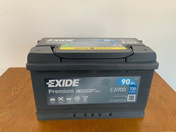 EXIDE Premium EA 900 12V 90 AH 720A(EN)