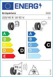 Bridgestone 225/40 R18 92V Blizzak LM-005 XL FSL M+S  C A 72 W2254018